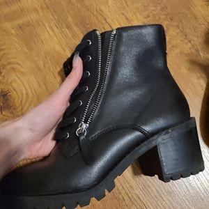 Aldo combat booties